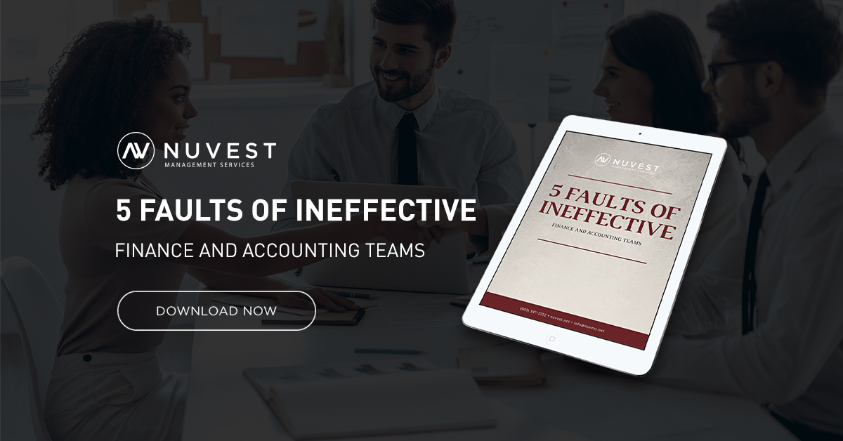 Download 5 Faults of Ineffective Finance and Accounting Teams